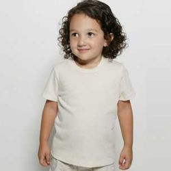American Apparel® Toddler Retail Soft Organic Fine Jersey Cotton Tee