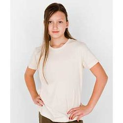 American Apparel® Youth Retail Soft Organic Fine Jersey Cotton Tee