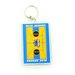 Rectangular Acrylic Keytag with Paper Insert