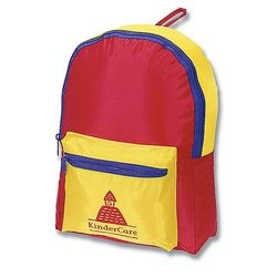Children's Multi-Color Backpack