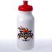 20 oz. Dishwasher-Safe Bike Bottle (White) (BPA-Free)